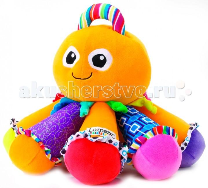 Развивающие игрушки Lamaze Осьминог большой игрушка развивающая вращающийся осьминог 638503