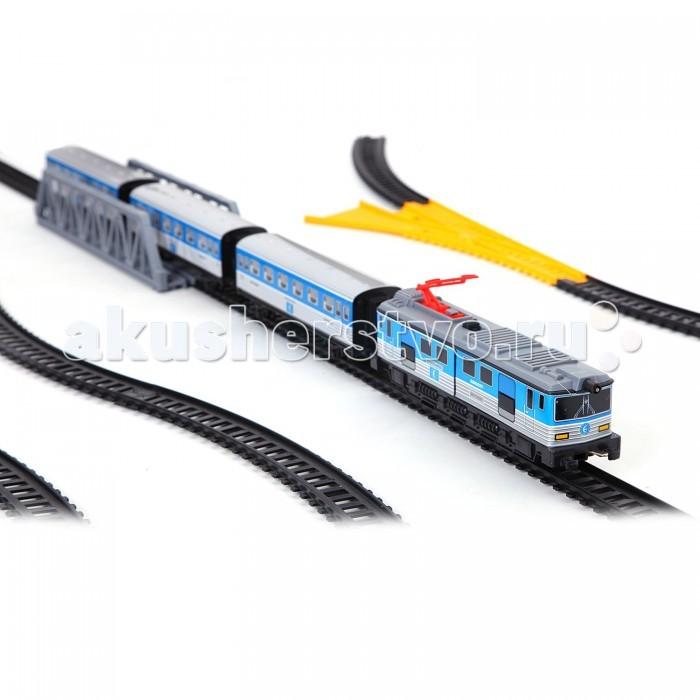 Pequetren Железная дорога 1 локомотив 3 вагона светофор мост стрелка перевода 690