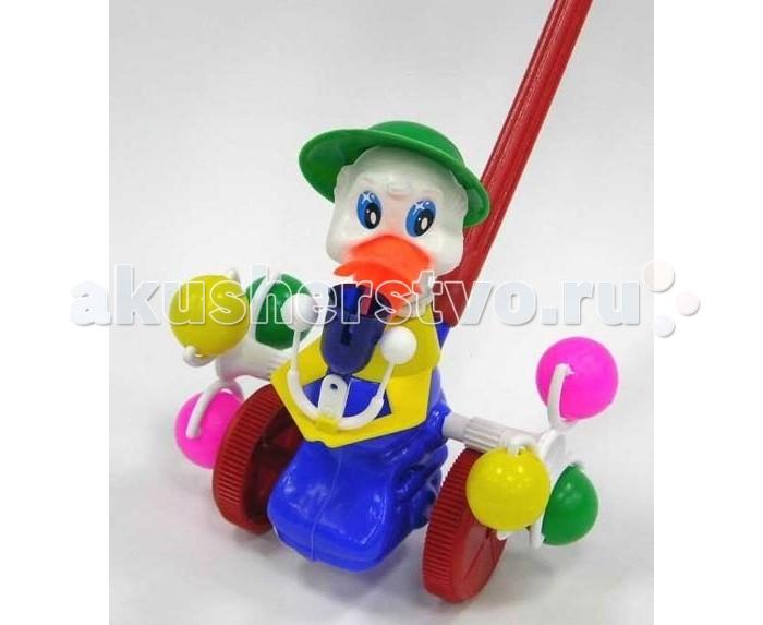 Каталки-игрушки Rabbit Утка со звонком смеситель в виде утки