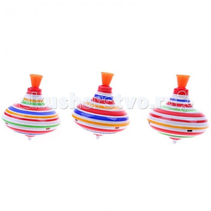 Развивающие игрушки Chuc Юла малая Полосатая развивающие игрушки стеллар юла с шариками