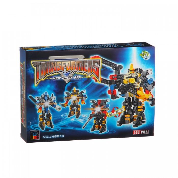 Конструкторы Dragon Toys Страйп Трансформер-робот JH6910 (148 элементов) конструкторы dragon toys страйп трансформер робот jh6910 148 элементов