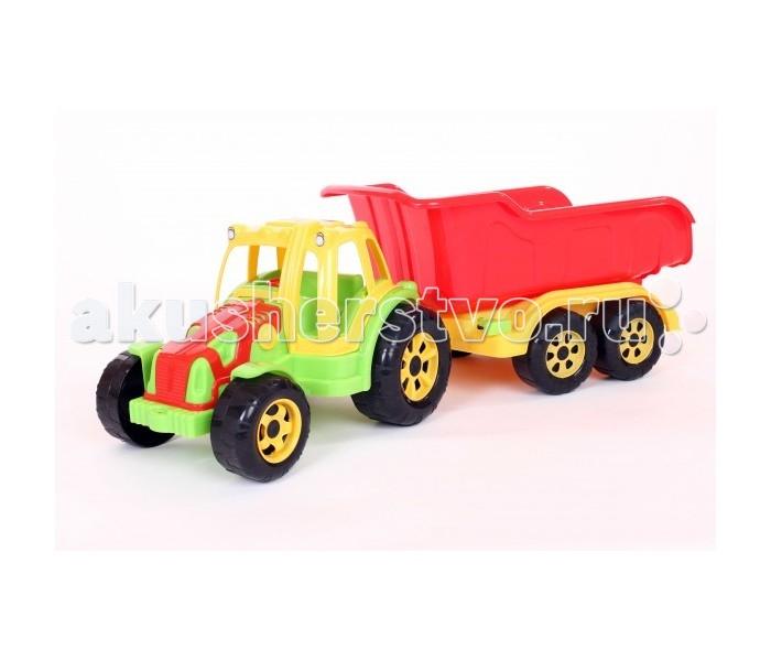 Машины FCH Трактор Raider-Мax с прицепом мир отечественных моделей трактор мтз 82 с прицепом