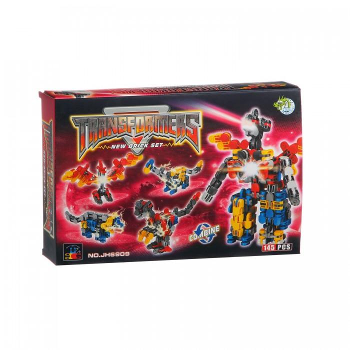Конструкторы Dragon Toys Страйп Трансформер-робот JH6909 (145 элементов) конструкторы dragon toys страйп трансформер робот jh6910 148 элементов