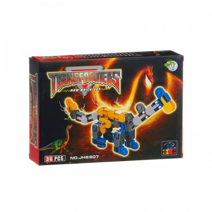 Конструкторы Dragon Toys Страйп Трансформер-дракон JH6907 (35 элементов) конструкторы dragon toys страйп трансформер робот jh6910 148 элементов