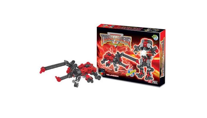 Конструкторы Dragon Toys Страйп Трансформер-жук JH6904 (57 элементов) конструкторы dragon toys страйп трансформер робот jh6910 148 элементов