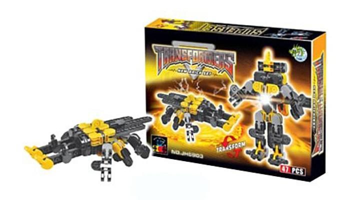 Конструкторы Dragon Toys Страйп Трансформер-жук JH6903 (47 элементов) конструкторы dragon toys страйп трансформер робот jh6910 148 элементов
