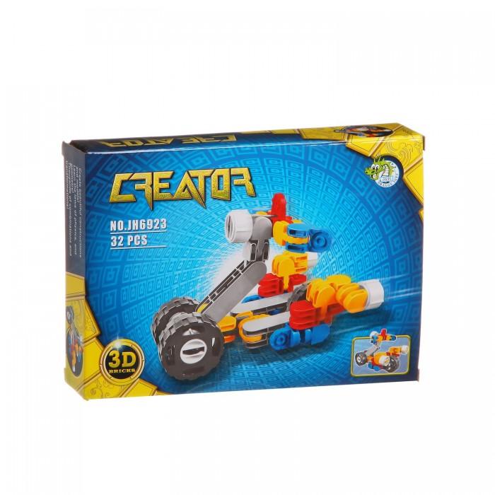Конструкторы Dragon Toys Страйп Мотоцикл JH6923 (32 элемента) конструкторы dragon toys страйп трансформер робот jh6910 148 элементов