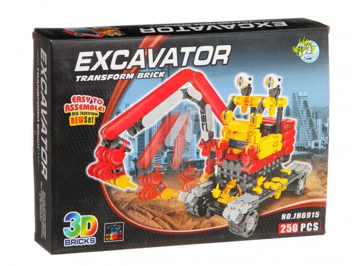 цены  Конструкторы Dragon Toys Страйп Экскаватор JH6915 (250 элементов)