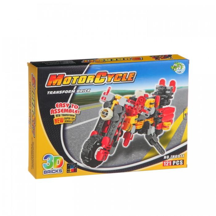 Конструкторы Dragon Toys Страйп Мотоцикл JH6911 (121 элемент) конструкторы dragon toys страйп трансформер робот jh6910 148 элементов