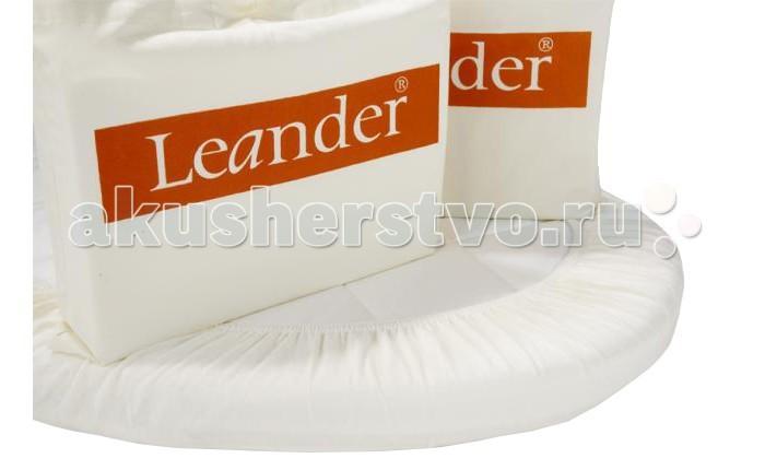Постельное белье Leander Комплект простынок Юниор 150х70Комплект простынок Юниор 150х70Комплект из двух овальных простынок на резинке для подростковой кроватки Leander.  Размер: 70Х150 см.  Простынки изготовлены из натурального хлопка<br>