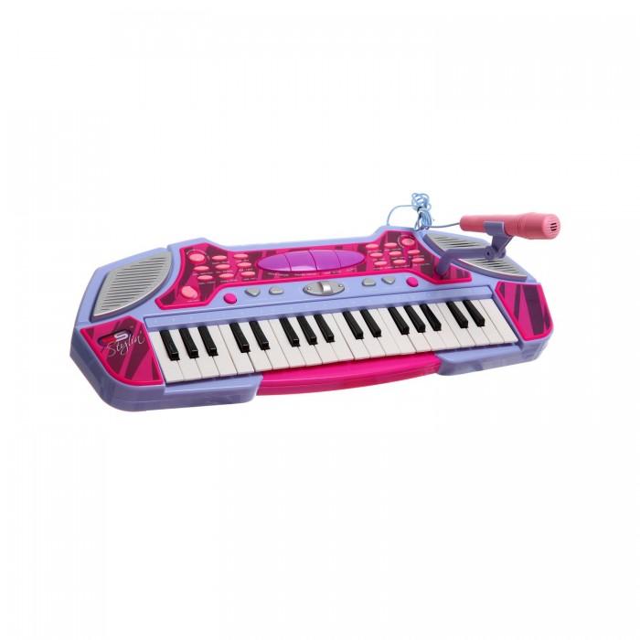 Музыкальная игрушка SS Music Синтезатор Musical Keyboard 44405Синтезатор Musical Keyboard 44405Музыкальная игрушка SS Music Синтезатор Musical Keyboard 44405. Для развития музыкального таланта и проявления творческих способностей, предлагаем вашему вниманию детский синтезатор, который имеет дополнительные мелодии и инструментальные звуки.   Компактный синтезатор не займет дома много места, поэтому его очень удобно использовать в качестве домашнего музыкального инструмента.   Яркий синтезатор оснащен функцией записи и воспроизведения, а так же очень прост в использовании, в следствие чего Вашему ребенку не составит труда приобщиться к миру музыки, при этом обогатив внутренний мир.<br>