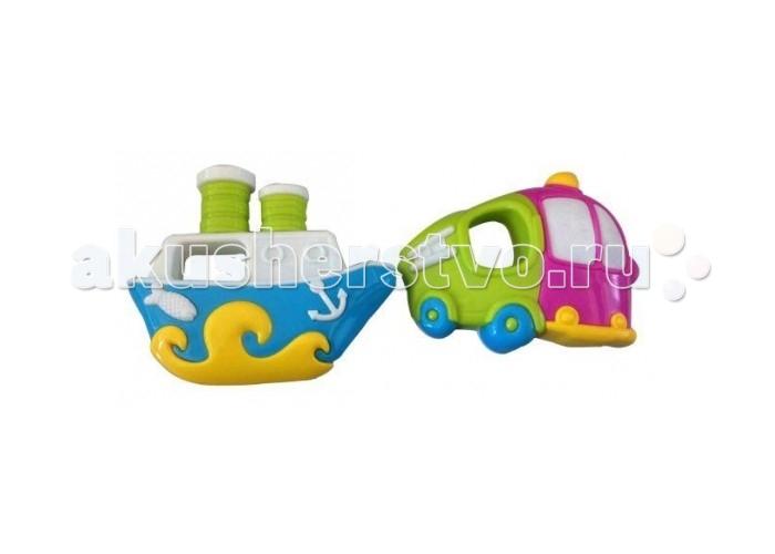 Погремушки Жирафики Набор Кораблик и грузовичок погремушки жирафики набор автобус и кораблик