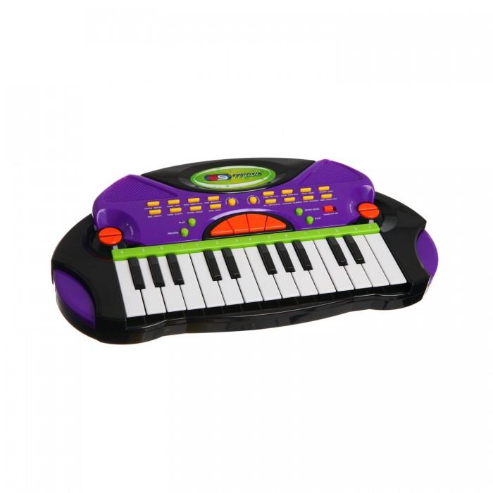 Музыкальные игрушки SS Music Синтезатор Electronic Keyboard 77028 музыкальные игрушки ss music гитара my first fun guitar 11015