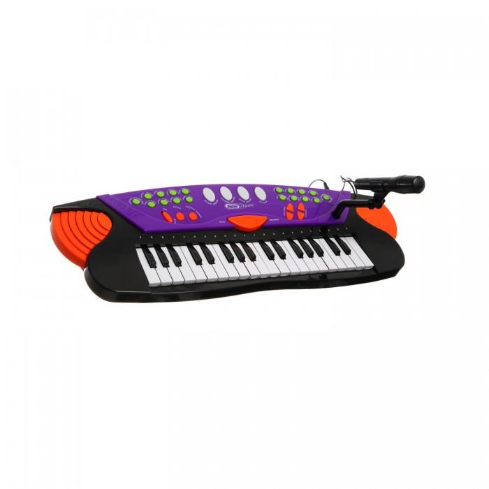Музыкальная игрушка SS Music Синтезатор с микрофоном Musical Keyboard 37 клавиш 77037Синтезатор с микрофоном Musical Keyboard 37 клавиш 77037Музыкальная игрушка SS Music Синтезатор с микрофоном Musical Keyboard 37 клавиш 77037. Для развития музыкального таланта и проявления творческих способностей, предлагаем вашему вниманию детский синтезатор, который имеет дополнительные мелодии и инструментальные звуки.   Компактный синтезатор не займет дома много места, поэтому его очень удобно использовать в качестве домашнего музыкального инструмента.   Яркий синтезатор оснащен функцией записи и воспроизведения, а так же очень прост в использовании, в следствие чего Вашему ребенку не составит труда приобщиться к миру музыки, при этом обогатив внутренний мир.<br>