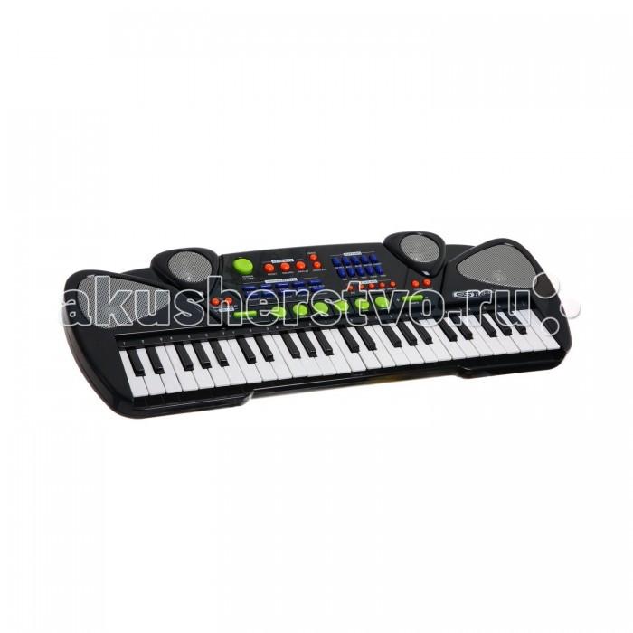 Музыкальная игрушка SS Music Синтезатор Musical Keyboard 49 клавиш 77042BСинтезатор Musical Keyboard 49 клавиш 77042BМузыкальная игрушка SS Music Синтезатор Musical Keyboard 49 клавиш 77042B. Для развития музыкального таланта и проявления творческих способностей, предлагаем вашему вниманию детский синтезатор, который имеет дополнительные мелодии и инструментальные звуки.   Компактный синтезатор не займет дома много места, поэтому его очень удобно использовать в качестве домашнего музыкального инструмента.   Яркий синтезатор оснащен функцией записи и воспроизведения, а так же очень прост в использовании, в следствие чего Вашему ребенку не составит труда приобщиться к миру музыки, при этом обогатив внутренний мир.<br>