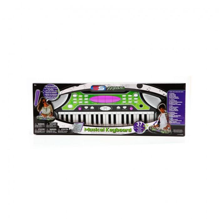 Музыкальная игрушка SS Music Синтезатор Musical Keyboard 37 клавиш 77048Синтезатор Musical Keyboard 37 клавиш 77048Музыкальная игрушка SS Music Синтезатор Musical Keyboard 37 клавиш 77048. Для развития музыкального таланта и проявления творческих способностей, предлагаем вашему вниманию детский синтезатор, который имеет дополнительные мелодии и инструментальные звуки.   Компактный синтезатор не займет дома много места, поэтому его очень удобно использовать в качестве домашнего музыкального инструмента.   Яркий синтезатор оснащен функцией записи и воспроизведения, а так же очень прост в использовании, в следствие чего Вашему ребенку не составит труда приобщиться к миру музыки, при этом обогатив внутренний мир.<br>
