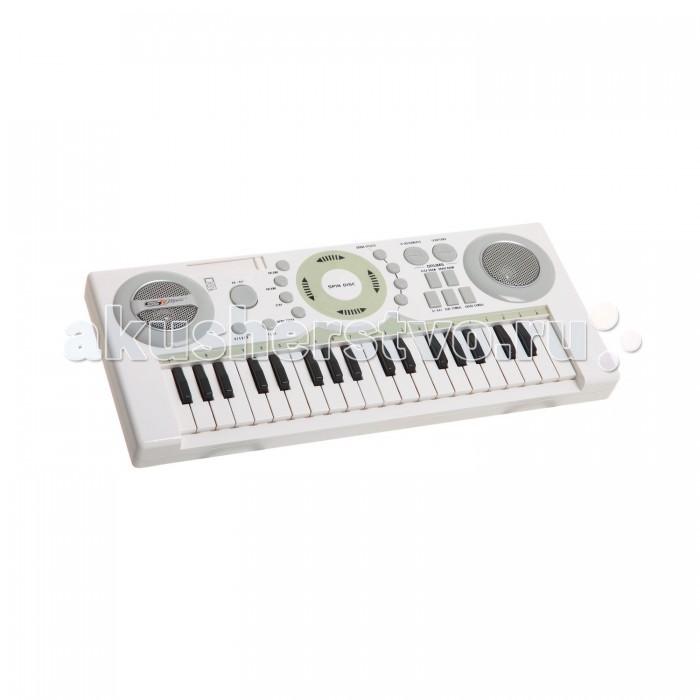 Музыкальная игрушка SS Music Синтезатор Audio Pro Keyboard 37 клавиш 77204Синтезатор Audio Pro Keyboard 37 клавиш 77204Музыкальная игрушка SS Music Синтезатор Audio Pro Keyboard 37 клавиш 77204. Для развития музыкального таланта и проявления творческих способностей, предлагаем вашему вниманию детский синтезатор, который имеет дополнительные мелодии и инструментальные звуки.   Компактный синтезатор не займет дома много места, поэтому его очень удобно использовать в качестве домашнего музыкального инструмента.   Яркий синтезатор оснащен функцией записи и воспроизведения, а так же очень прост в использовании, в следствие чего Вашему ребенку не составит труда приобщиться к миру музыки, при этом обогатив внутренний мир.<br>