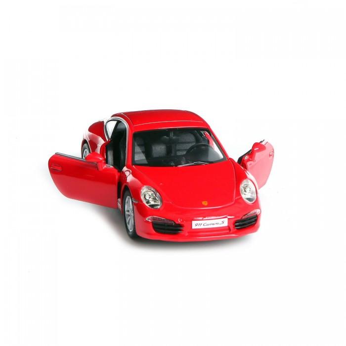 Машины RMZ City Металлическая инерционная модель М1:32 Porsche 911 Carrera S 554010 машинки pit stop машинка инерционная porsche 911 carrera s красная 1 32 ps 554010 r