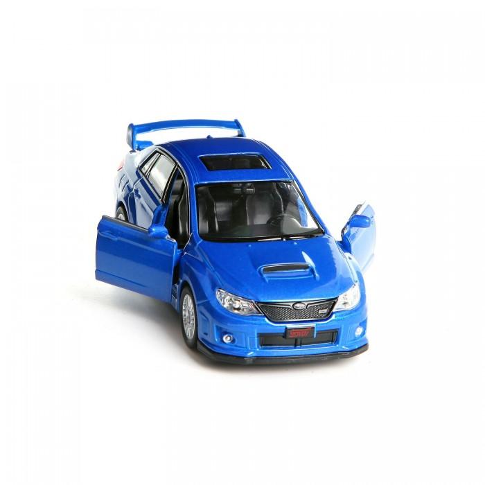 Машины RMZ City Металлическая инерционная модель М1:32 Subaru WRX STI, 554009 эмблема для авто subaru sti 59 impreza wrx