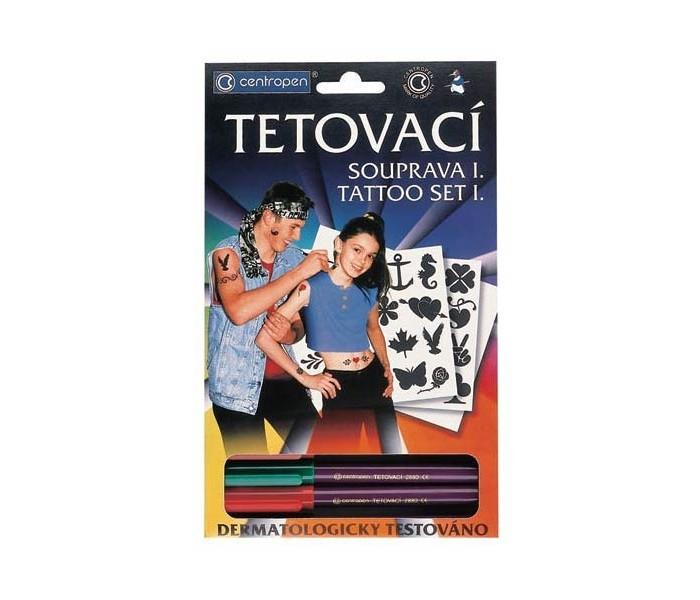 Аксессуары Centropen Набор Tattoo для создания татуировок аксессуары для детей