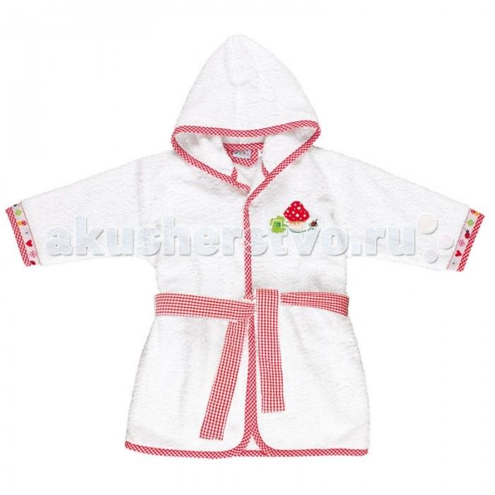 Детская одежда , Халаты Spiegelburg Baby Gluck размер: 74/86 арт: 142679 -  Халаты