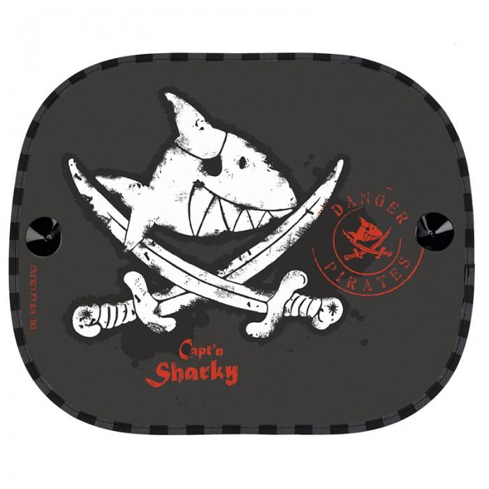 Аксессуары для автомобиля Spiegelburg Солнцезащитные шторки Captn Sharky аксессуары spiegelburg тату captn sharky 21265