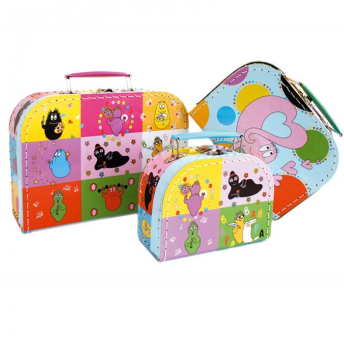 Летние товары , Детские чемоданы Spiegelburg Набор чемоданчиков Barbapapa арт: 142791 -  Детские чемоданы