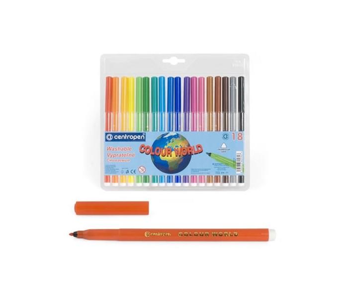 Фломастеры Centropen Набор Colour world 30 цветов фломастеры centropen набор перекрашивающих фломастеров 6 шт