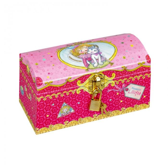 Шкатулки Spiegelburg Сундук Prinzessin Lillifee ws 283 шкатулка в стиле стимпанк осьминог и сундук 1197307