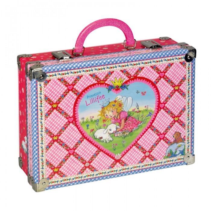 Летние товары , Детские чемоданы Spiegelburg Чемоданчик Prinzessin Lillifee арт: 142923 -  Детские чемоданы
