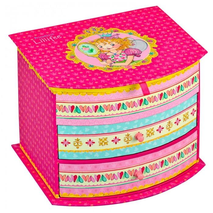 Детская мебель , Шкатулки Spiegelburg Шкатулка для украшений Prinzessin Lillifee арт: 143127 -  Шкатулки