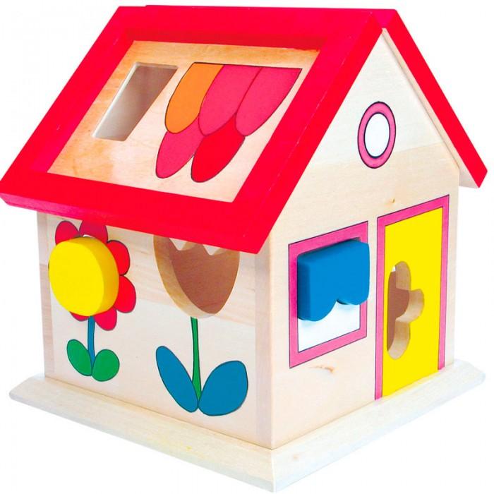 Сортер Mertens Домик сортерДомик сортерBino Домик сортер.  В игрушечном домике все как в настоящем, там живет котенок, цветочки. Для всех них в домике есть отдельные прорези в стенах, куда надо поместить фигурки.  Игрушка предназначена для развития у ребенка моторики рук и пространственного мышления. Включает 12 деталей.<br>