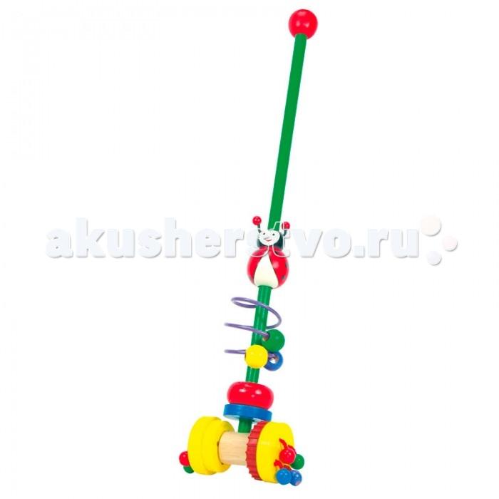 Каталки-игрушки Mertens Каталка Божья коровка каталка телефон