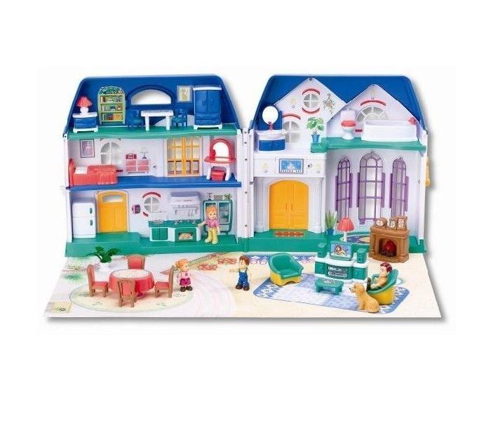 Кукольные домики и мебель Keenway Кукольный домик Набор My Happy Family 20132 набор игровой для девочек keenway my happy family