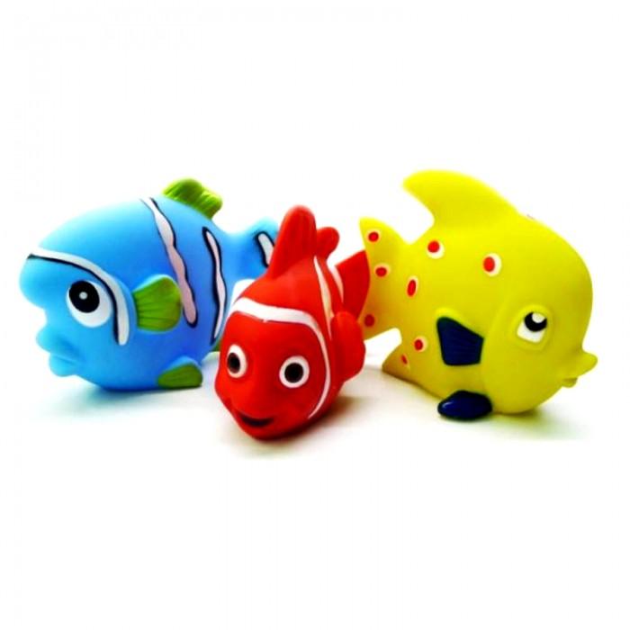 Игрушки для ванны Жирафики Набор игрушек для ванны Маленькие рыбки мобили жирафики рыбки