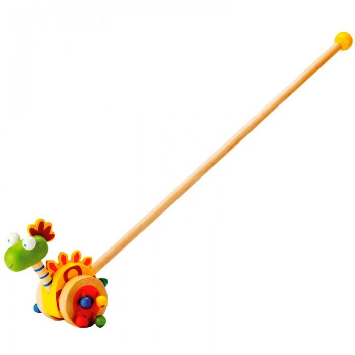 Каталки-игрушки Mertens Каталка Динозаврик 81671 каталка телефон