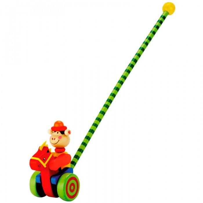 Каталки-игрушки Mertens Каталка Обезьянка пуффи сув обезьянка с сердцем