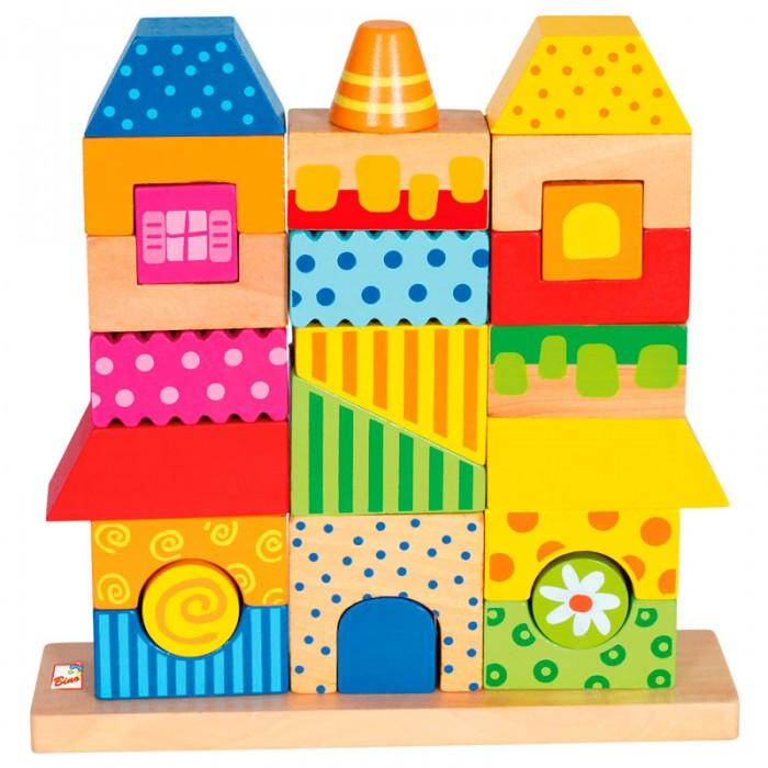 Деревянные игрушки Mertens Конструктор Домик