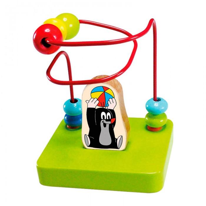 Деревянные игрушки Mertens Лабиринт Маленький крот bino железная дорога маленький крот