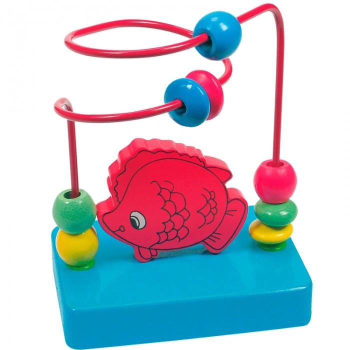Деревянные игрушки Mertens Лабиринт Рыбка деревянные игрушки mertens лабиринт маленький крот