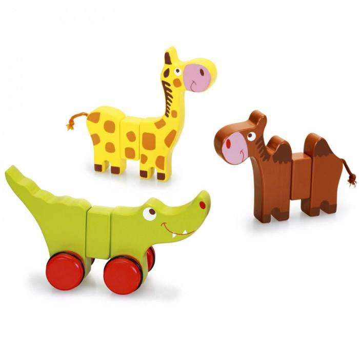 Конструктор Scratch   Набор головоломка-конструкторНабор головоломка-конструкторBino Набор головоломка-конструктор.  Этот увлекательный набор научит Вашего малыша правильно распознавать формы, цвета фигур. В набор входят части, из которых можно собрать трёх разных животных Африки: жирафа, крокодила и верблюда.<br>