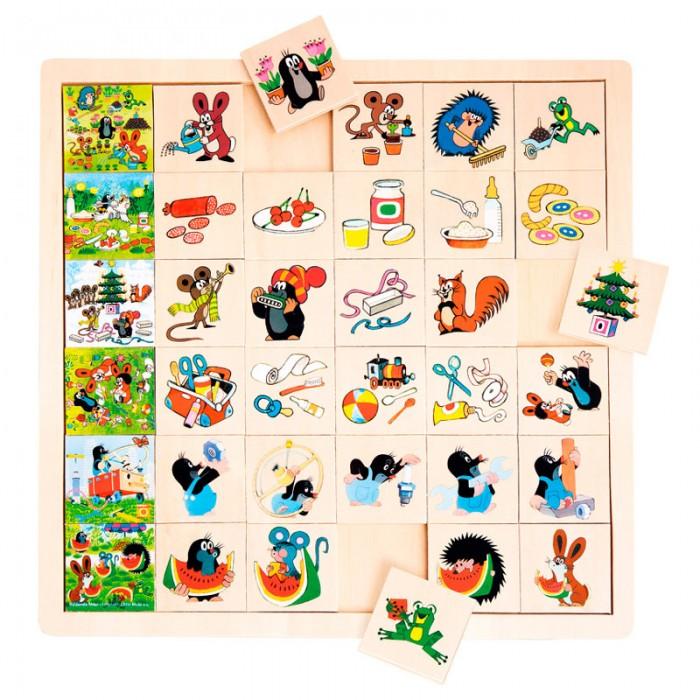 Игры для малышей Mertens Игра Маленький крот 13728 культиватор крот в красноярске