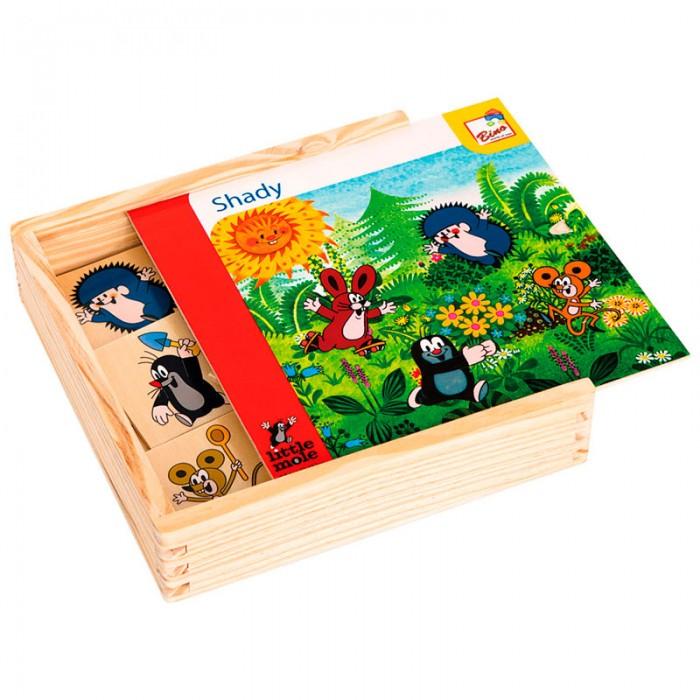 Игры для малышей Mertens Игра Маленький крот 13732 bino железная дорога маленький крот