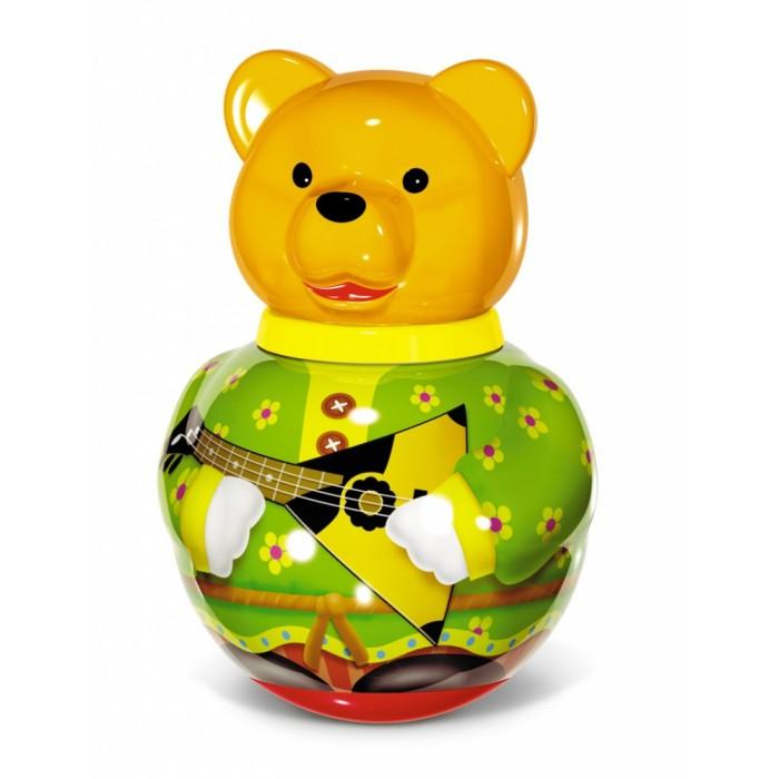 Развивающие игрушки Стеллар Неваляшка большая Бурый медведь Потапыч развивающие игрушки стеллар пирамида занимательная большая