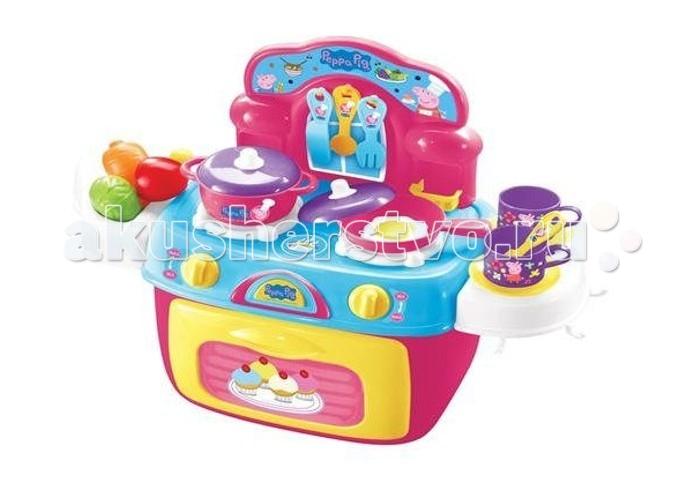 Ролевые игры Свинка Пеппа (Peppa Pig) Набор Кухня Пеппы 25 предметов сумки для детей свинка пеппа peppa pig рюкзачок малый superstar