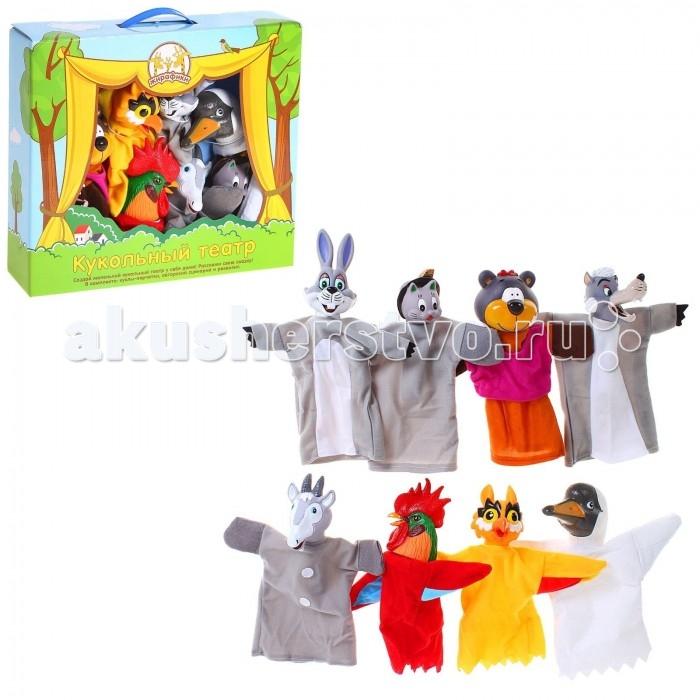 Ролевые игры Жирафики Кукольный Театр Потешки (8 кукол) игровой набор жирафики кукольный театр буратино 8 предметов 68344