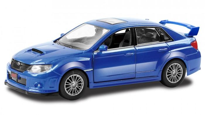 Машины RMZ City Металлическая модель М1:64 Subaru WRX STI 344014 real carbon fiber car outside rearview mirror caps cover for subaru forester legacy outback vx 2012 2013y impreza wrx sti 9 11
