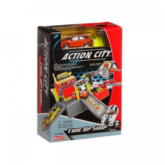 RealToy Игровой набор Тюнинг-центр 1 машина 28523