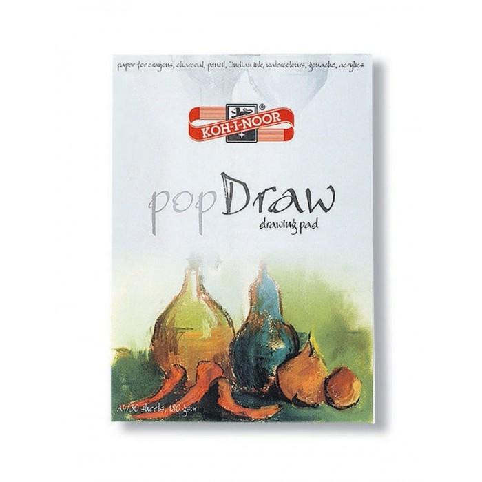 Принадлежности для рисования Koh-i-Noor Папка для рисования Pop draw A4 30 листов скетчбук 30 листов dream and draw 1069016