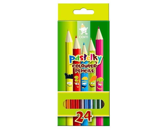 Карандаши, восковые мелки, пастель Koh-i-Noor Набор карандашей Pastelky 24 цвета карандаши koh i noor набор карандашей 24 цвета